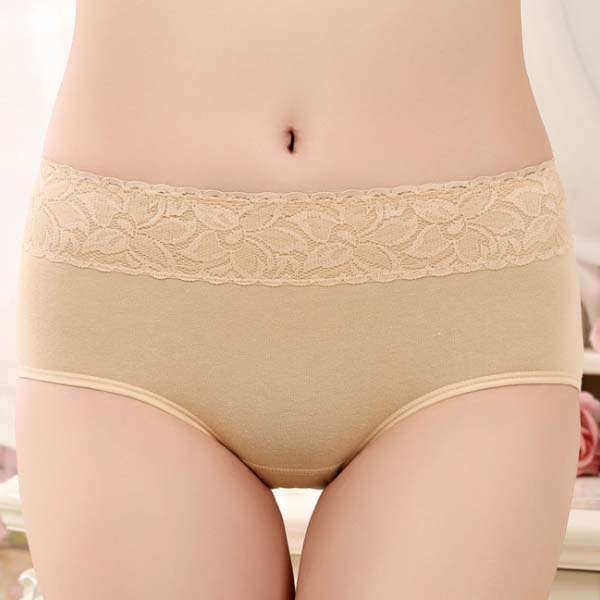 Cotton Period Leak Proof Panties - Apricot