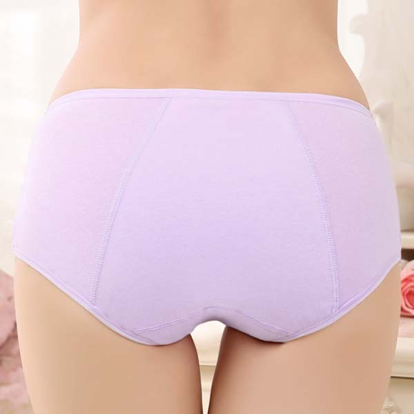 Cotton Period Leak Proof Panties - Back View