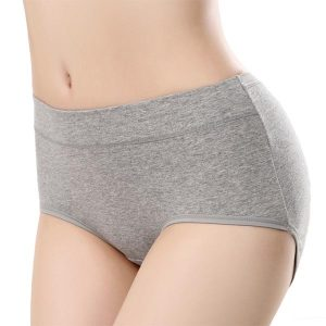 Classic Seamless Mid Rise Cotton Panties - side view