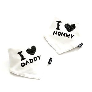 2 Piece Baby Bib Set - A10