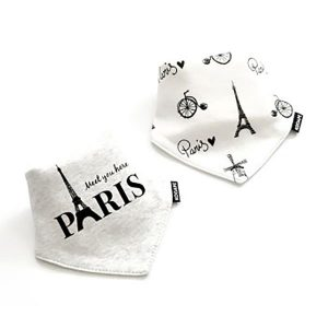 2 Piece Baby Bib Set - A13