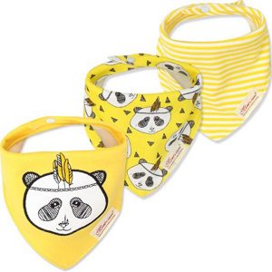 3 Piece Baby Bib Set - B09
