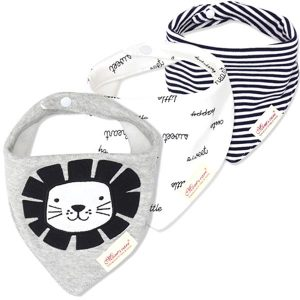 3 Piece Baby Bib Set - B10