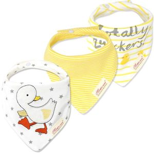 3 Piece Baby Bib Set - B11