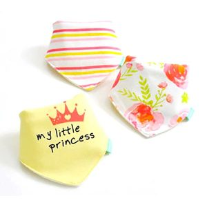 3 Piece Baby Bib Set - B12