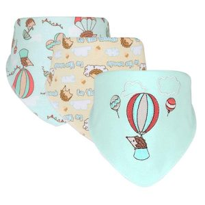 3 Piece Baby Bib Set - B15