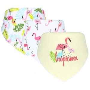 3 Piece Baby Bib Set - B19