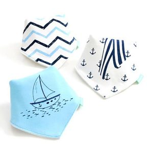 3 Piece Baby Bib Set - B20