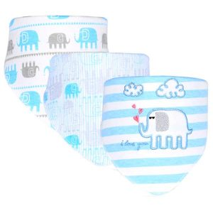 3 Piece Baby Bib Set - C01