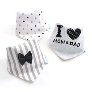 3 Piece Baby Bib Set - C02