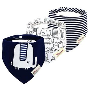 3 Piece Baby Bib Set - C03