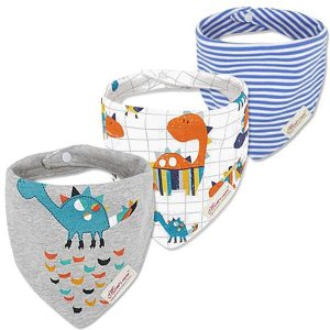 3 Piece Baby Bib Set - C05
