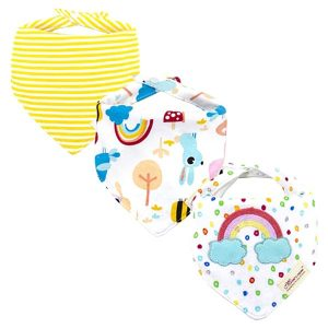 3 Piece Baby Bib Set - C07