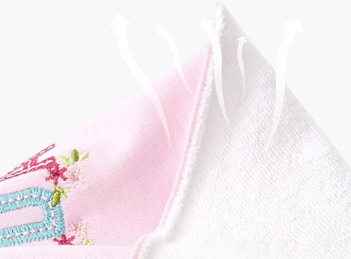 Baby Bib from Breathable Material