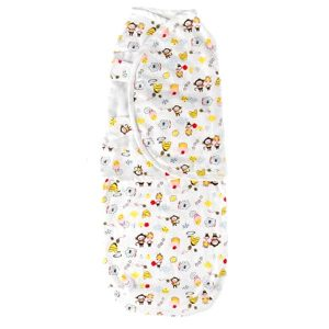 Baby Wrap Swaddle Monkey Girl
