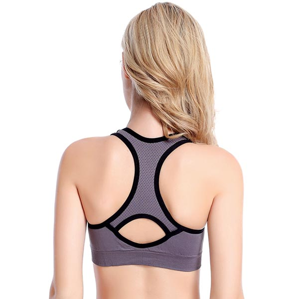 Camisole Racerback Sports Bra, Back View