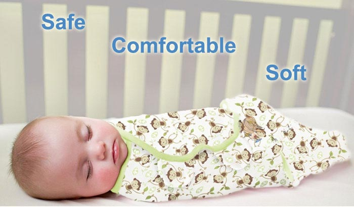 Safe Comfortable Baby Swaddle