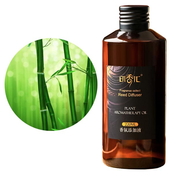 Green Bamboo Essential Oils Reed Aroma Diffuser Refill