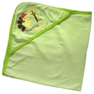 Baby Bath Towel Blanket with Hood - Duck