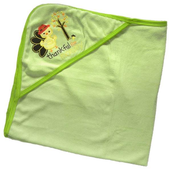 Baby Bath Towel Blanket with Hood - Duck