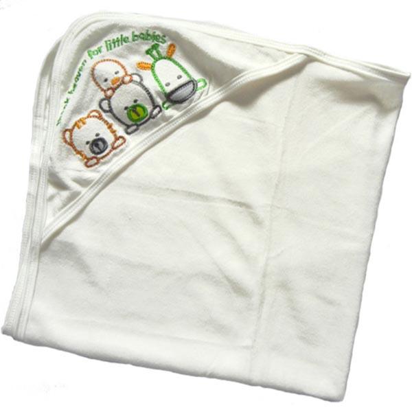 Baby Bath Towel with Hood - Heaven