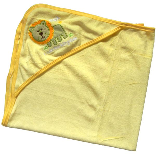 Baby Bath Towel with Hood - Lion