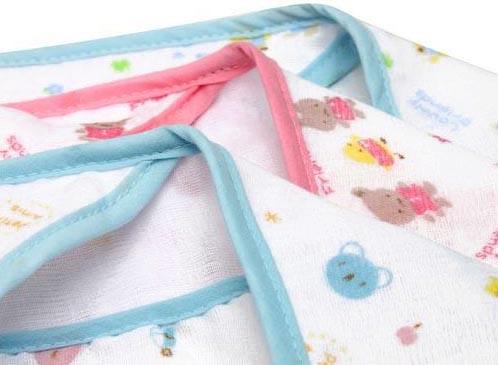 Hooded Muslin Bath Towel for Baby