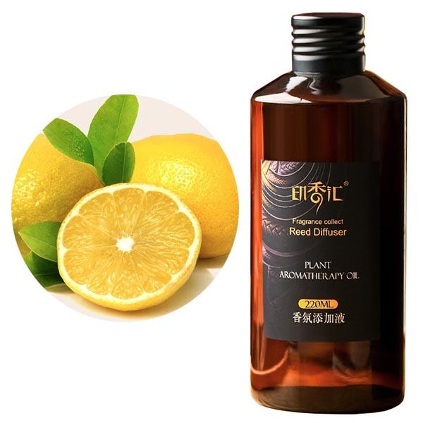 Lemon & Lemongrass Essential Oils Reed Aroma Diffuser Refill
