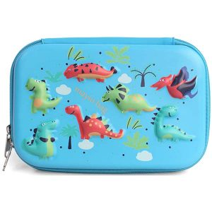 Large Pencil Case Cartoon Dinosaurs
