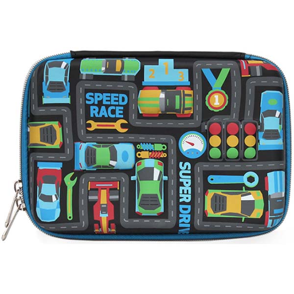 Pencil Case for Boys Speed Race