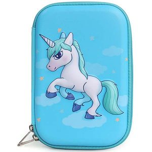3D Cartoon Pencil Case Unicorn