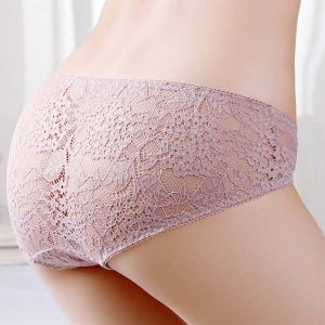 Sexy Jacquard Lace Brief Panties