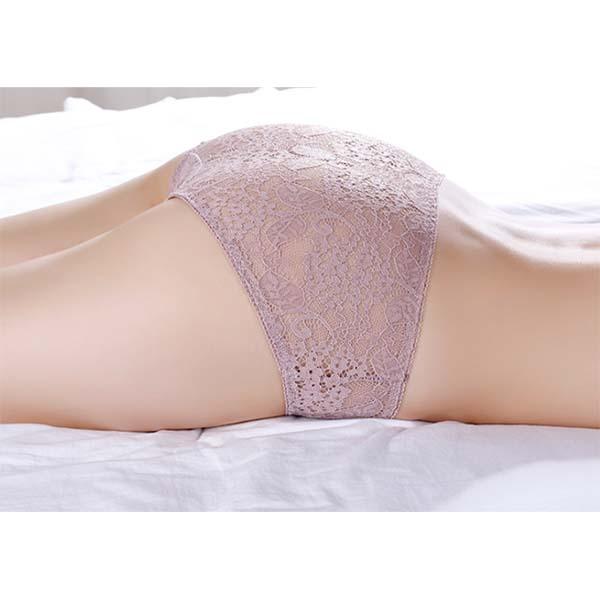Sexy Jacquard Lace Panties Details